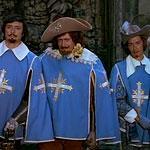 Главные герои «Три мушкетера»